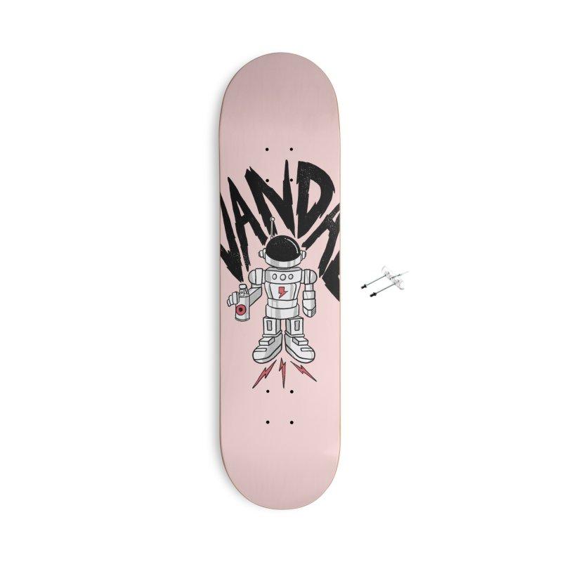 Vandal Accessories With Hanging Hardware Skateboard by RJ Artworks's Artist Shop