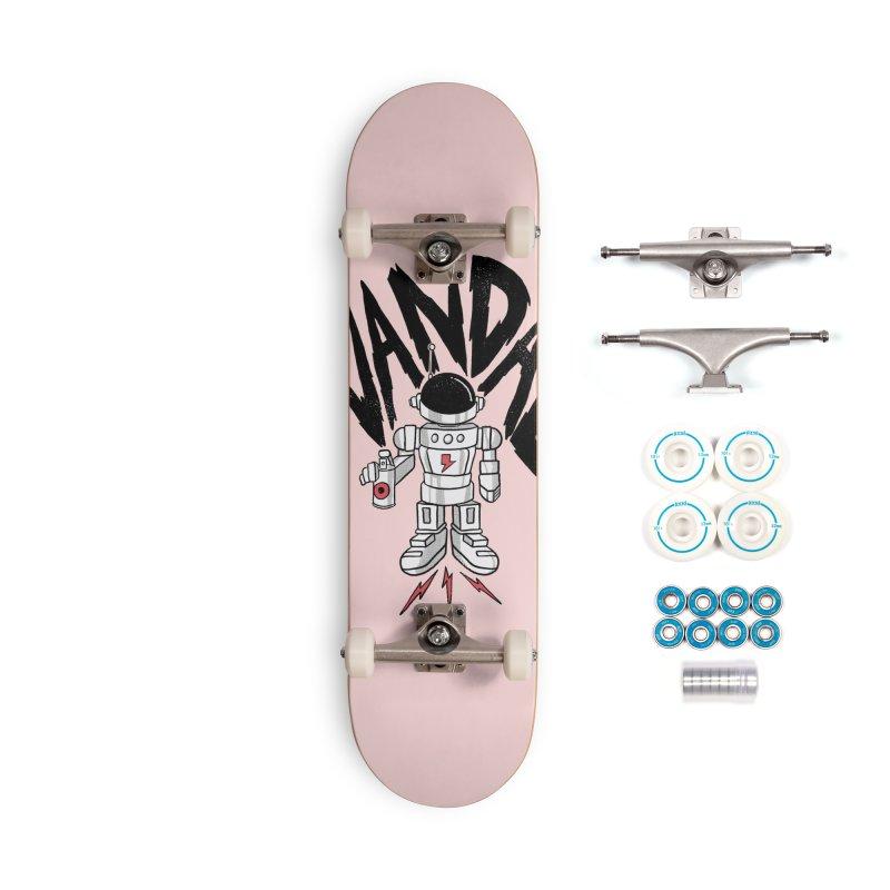 Vandal Accessories Complete - Basic Skateboard by RJ Artworks's Artist Shop