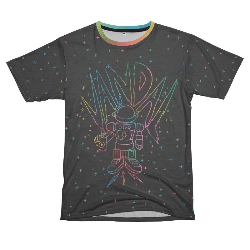 Neon Vandal Women's Unisex French Terry T-Shirt Cut & Sew by RJ Artworks's Artist Shop