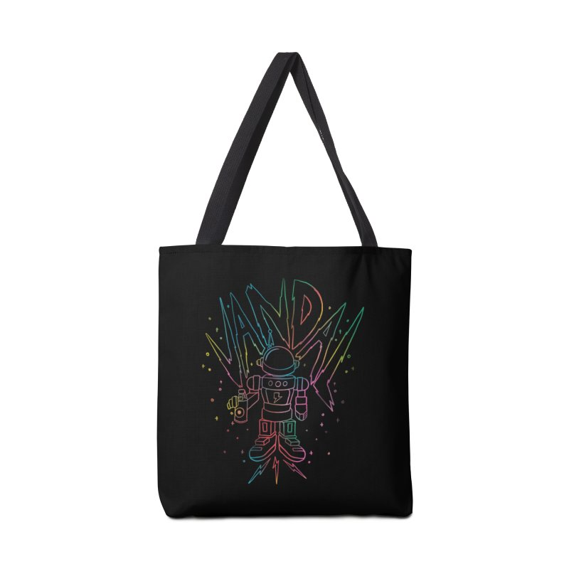 Neon Vandal Accessories Tote Bag Bag by RJ Artworks's Artist Shop