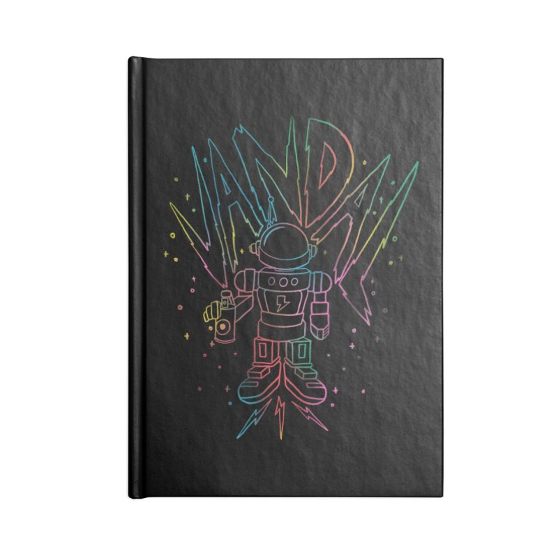 Neon Vandal Accessories Lined Journal Notebook by RJ Artworks's Artist Shop