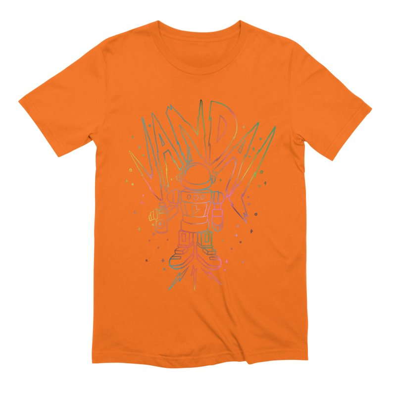 Neon Vandal Men's Extra Soft T-Shirt by RJ Artworks's Artist Shop