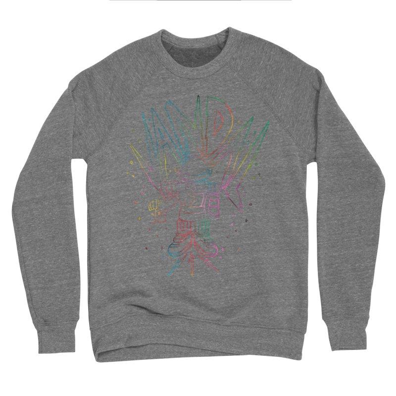 Neon Vandal Men's Sponge Fleece Sweatshirt by RJ Artworks's Artist Shop