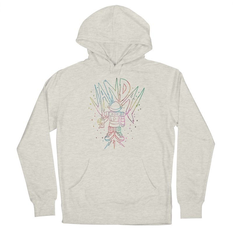 Neon Vandal Men's French Terry Pullover Hoody by RJ Artworks's Artist Shop