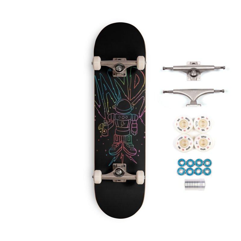 Neon Vandal Accessories Complete - Premium Skateboard by RJ Artworks's Artist Shop