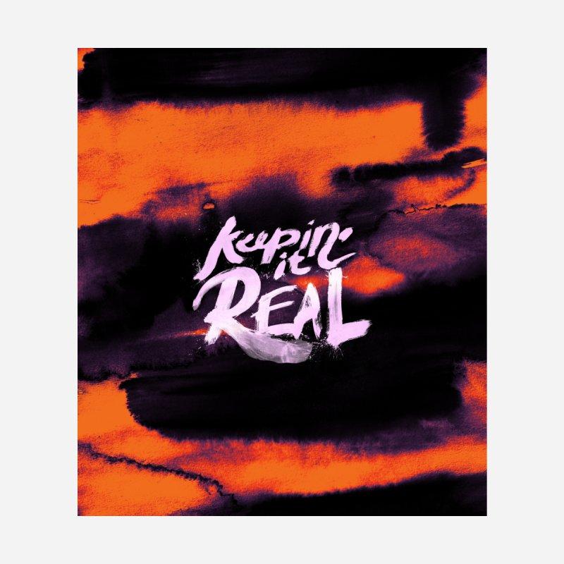 Keepin' it Real - Orange Women's Longsleeve T-Shirt by RJ Artworks's Artist Shop
