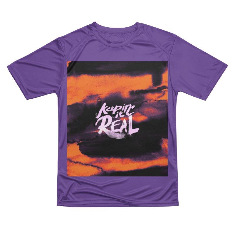 Keepin' it Real - Orange Men's Performance T-Shirt by RJ Artworks's Artist Shop