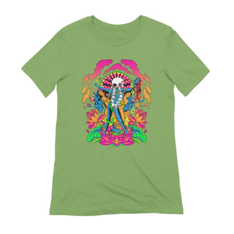 Metal Goddess Women's Extra Soft T-Shirt by RJ Artworks's Artist Shop