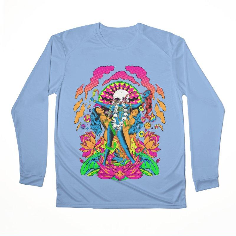 Metal Goddess Men's Performance Longsleeve T-Shirt by RJ Artworks's Artist Shop