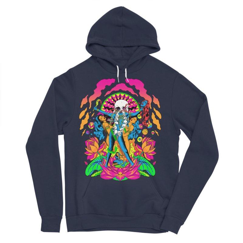 Metal Goddess Men's Sponge Fleece Pullover Hoody by RJ Artworks's Artist Shop