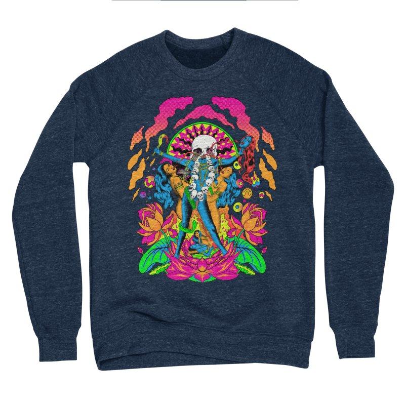 Metal Goddess Men's Sponge Fleece Sweatshirt by RJ Artworks's Artist Shop