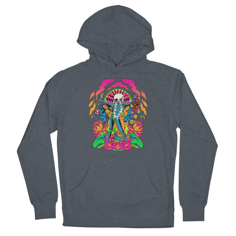 Metal Goddess Women's French Terry Pullover Hoody by RJ Artworks's Artist Shop