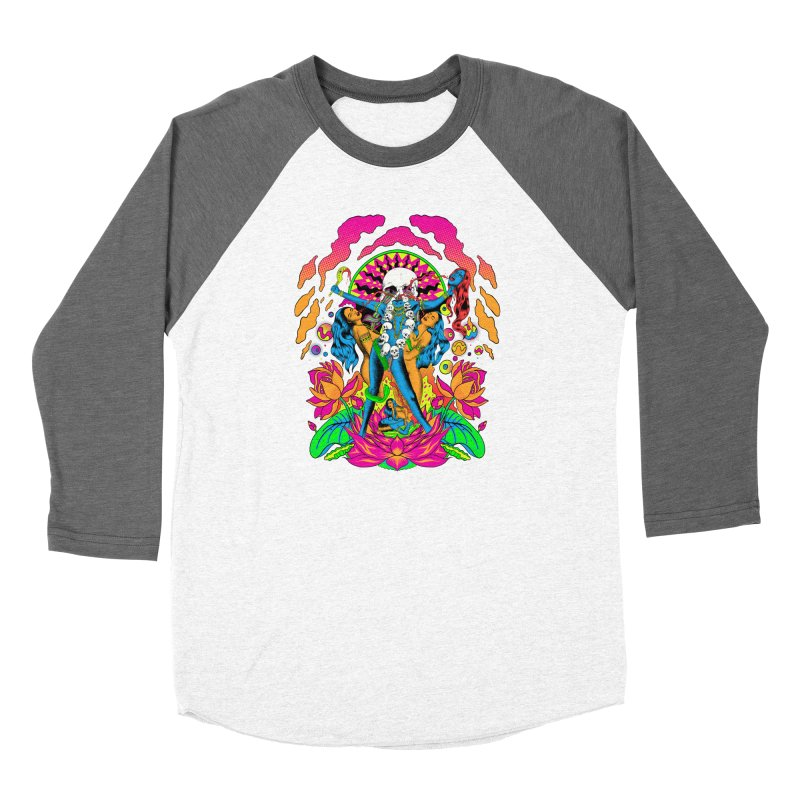 Metal Goddess Men's Baseball Triblend Longsleeve T-Shirt by RJ Artworks's Artist Shop