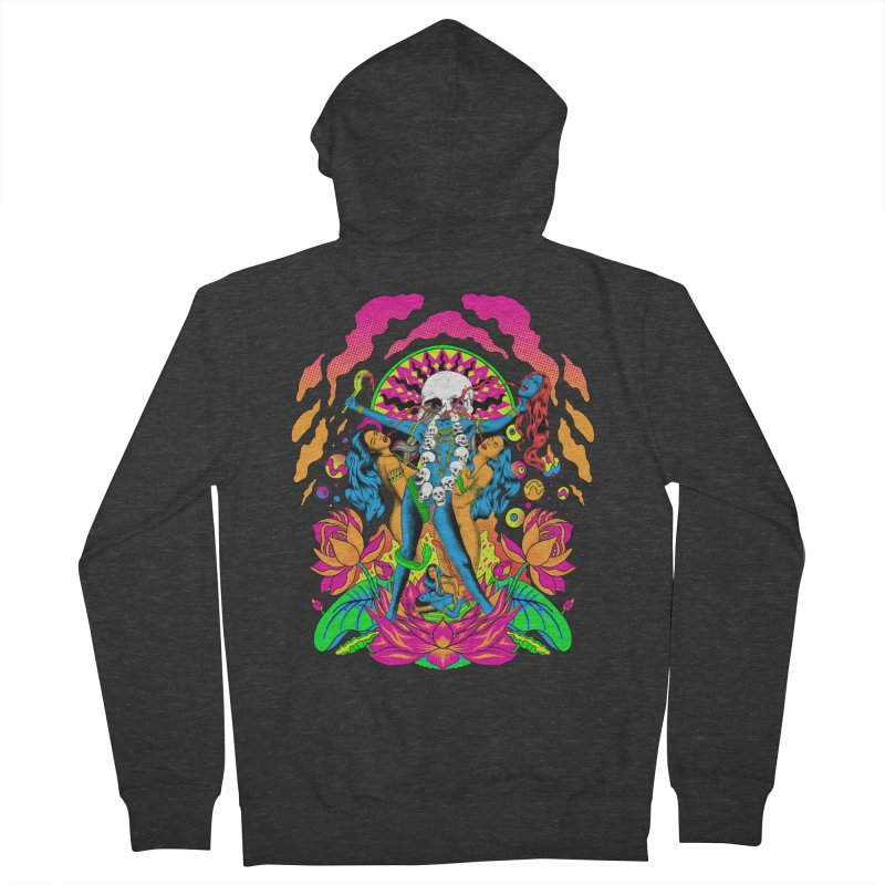 Metal Goddess Women's French Terry Zip-Up Hoody by RJ Artworks's Artist Shop