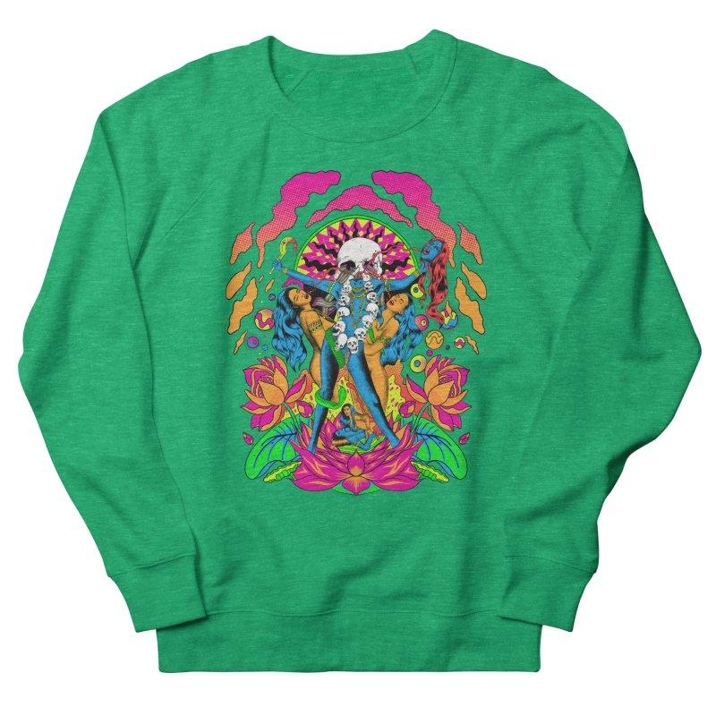 Metal Goddess Women's French Terry Sweatshirt by RJ Artworks's Artist Shop