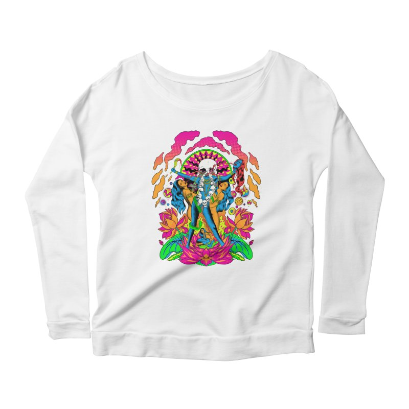 Metal Goddess Women's Scoop Neck Longsleeve T-Shirt by RJ Artworks's Artist Shop
