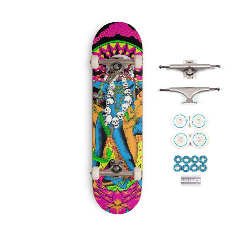 Metal Goddess Accessories Complete - Basic Skateboard by RJ Artworks's Artist Shop