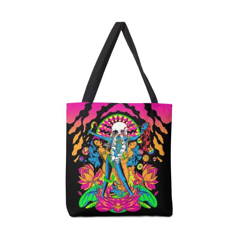 Metal Goddess Accessories Tote Bag Bag by RJ Artworks's Artist Shop