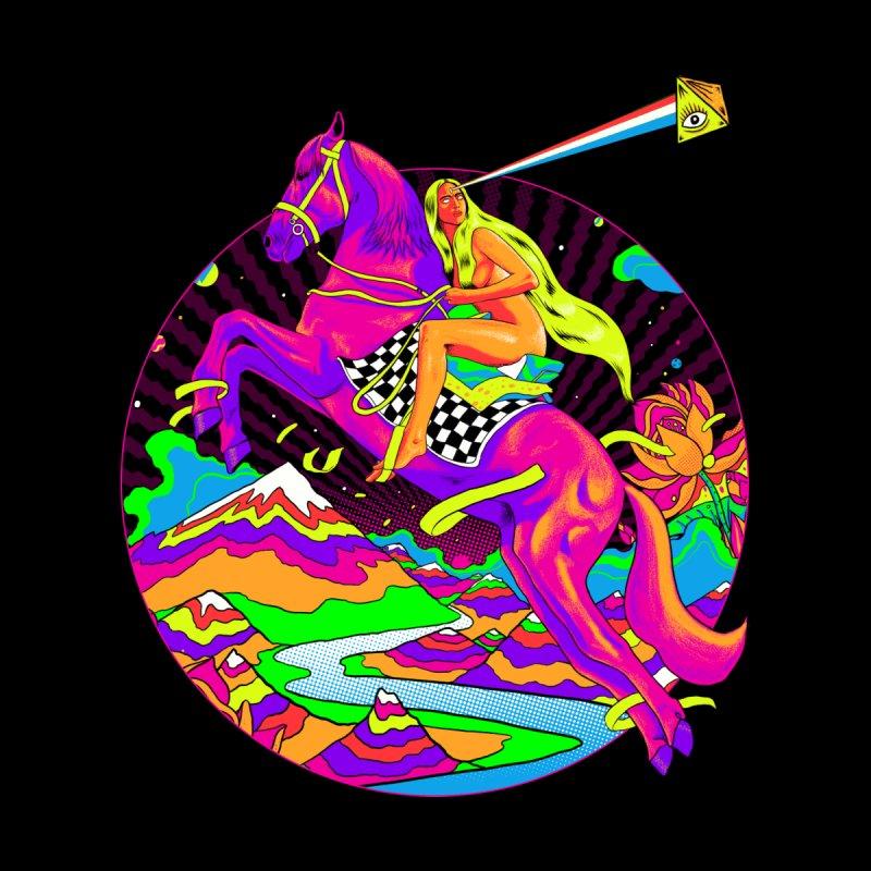 Lady Godiva - Neon Night Women's Longsleeve T-Shirt by RJ Artworks's Artist Shop