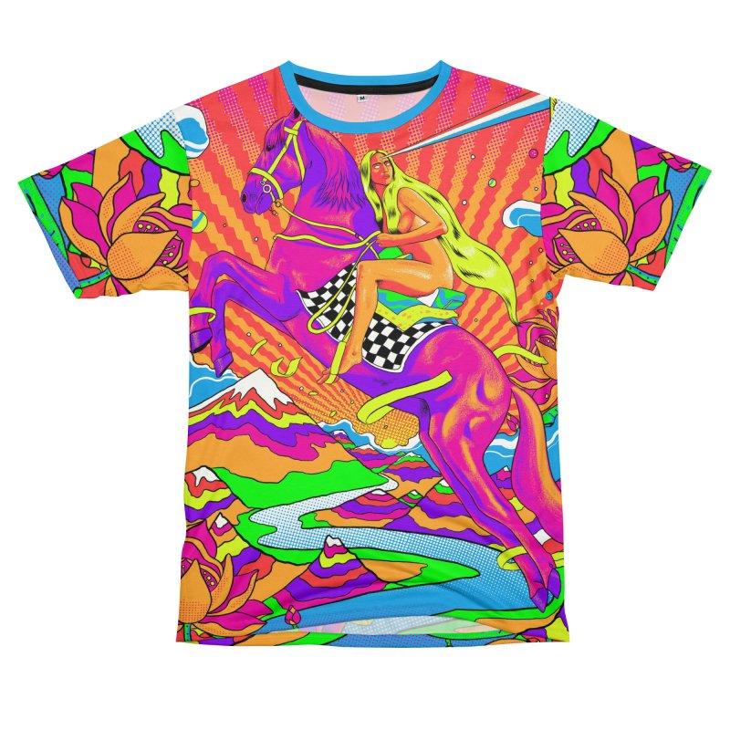 Lady Godiva - Bright Day Men's T-Shirt Cut & Sew by RJ Artworks's Artist Shop