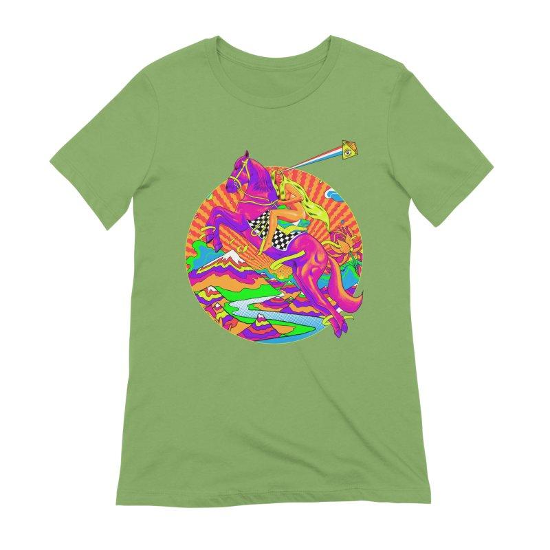Lady Godiva - Bright Day Women's Extra Soft T-Shirt by RJ Artworks's Artist Shop