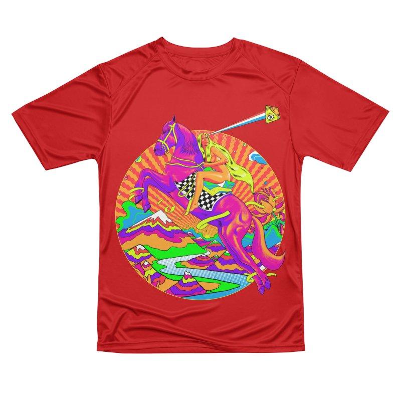 Lady Godiva - Bright Day Men's Performance T-Shirt by RJ Artworks's Artist Shop
