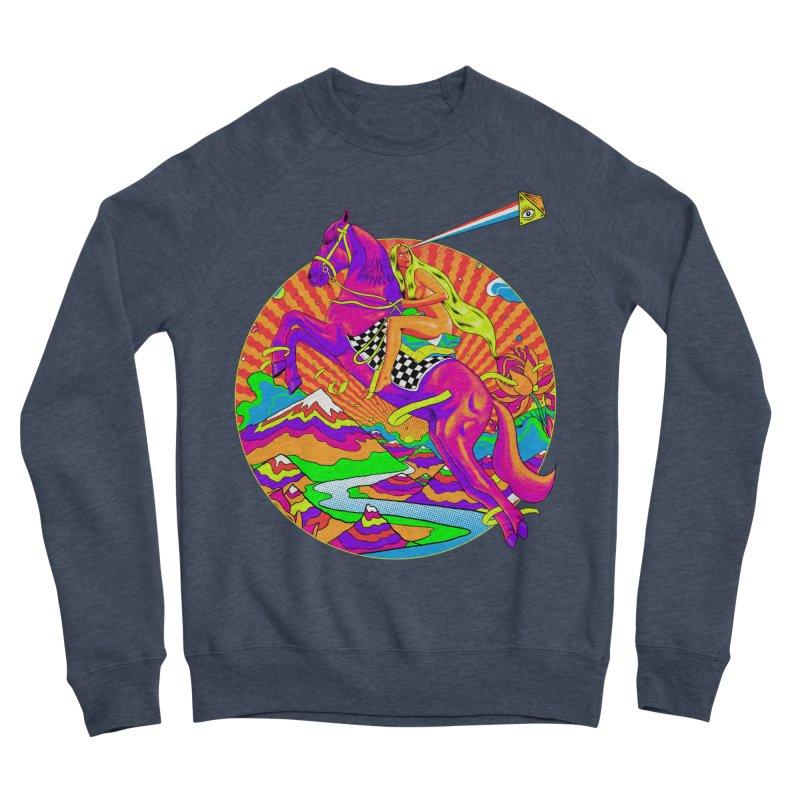 Lady Godiva - Bright Day Men's Sponge Fleece Sweatshirt by RJ Artworks's Artist Shop