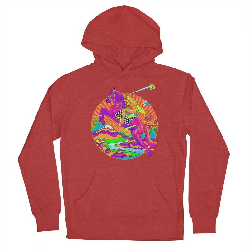 Lady Godiva - Bright Day Women's French Terry Pullover Hoody by RJ Artworks's Artist Shop