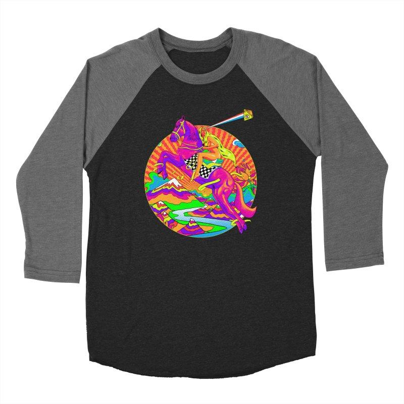 Lady Godiva - Bright Day Women's Baseball Triblend Longsleeve T-Shirt by RJ Artworks's Artist Shop