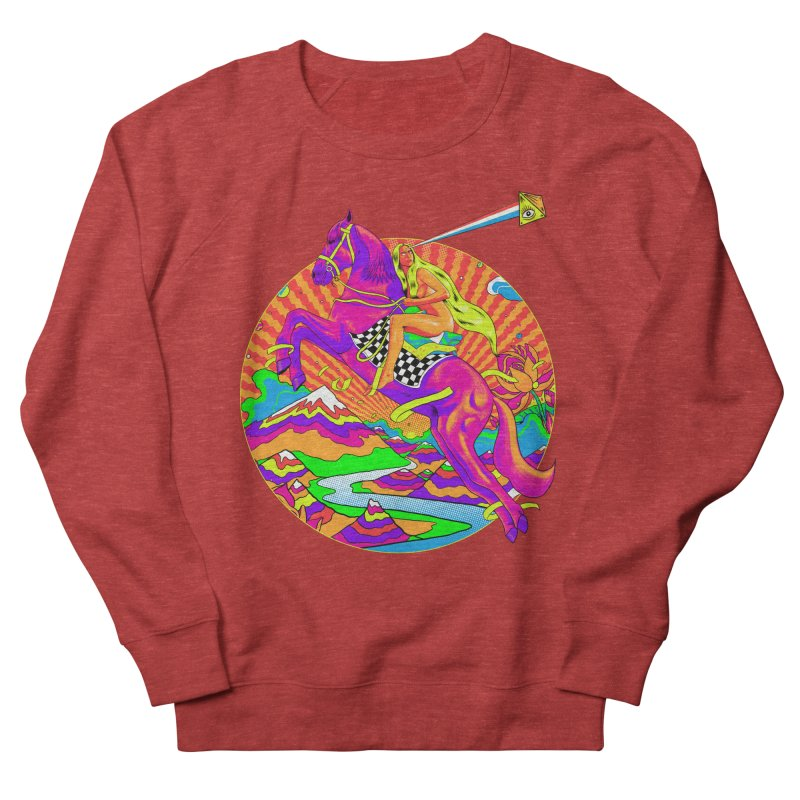 Lady Godiva - Bright Day Women's French Terry Sweatshirt by RJ Artworks's Artist Shop