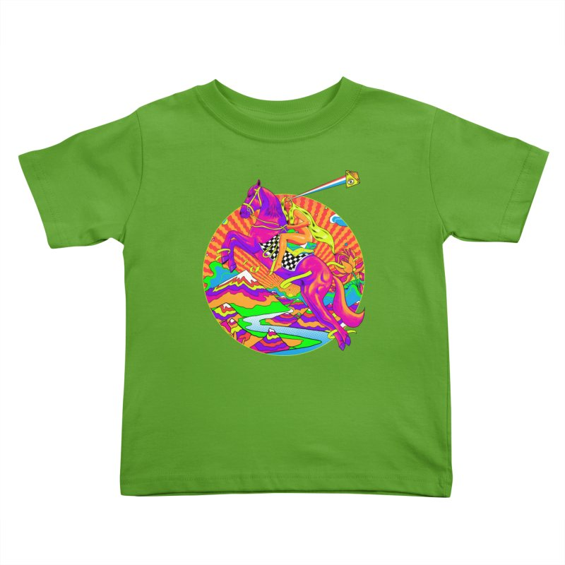 Lady Godiva - Bright Day Kids Toddler T-Shirt by RJ Artworks's Artist Shop
