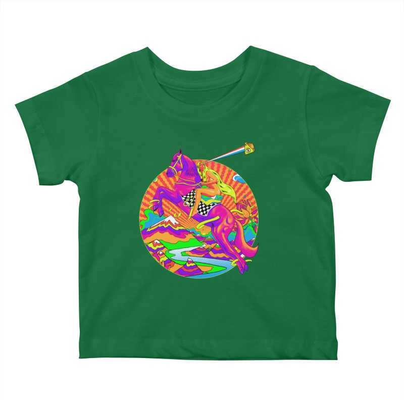 Lady Godiva - Bright Day Kids Baby T-Shirt by RJ Artworks's Artist Shop