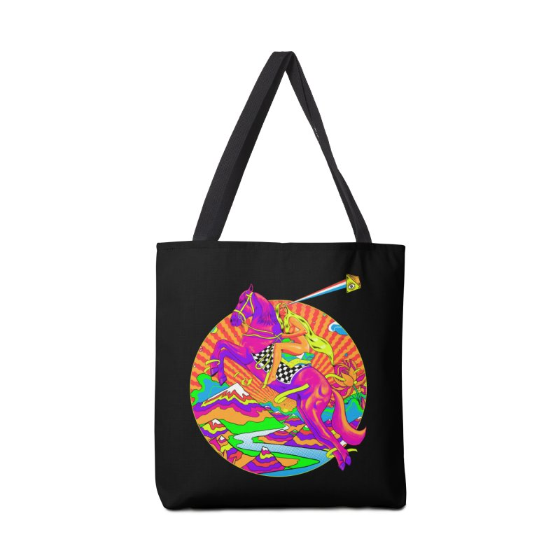 Lady Godiva - Bright Day Accessories Tote Bag Bag by RJ Artworks's Artist Shop