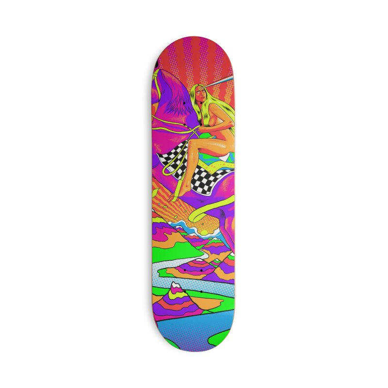Lady Godiva - Bright Day Accessories Deck Only Skateboard by RJ Artworks's Artist Shop
