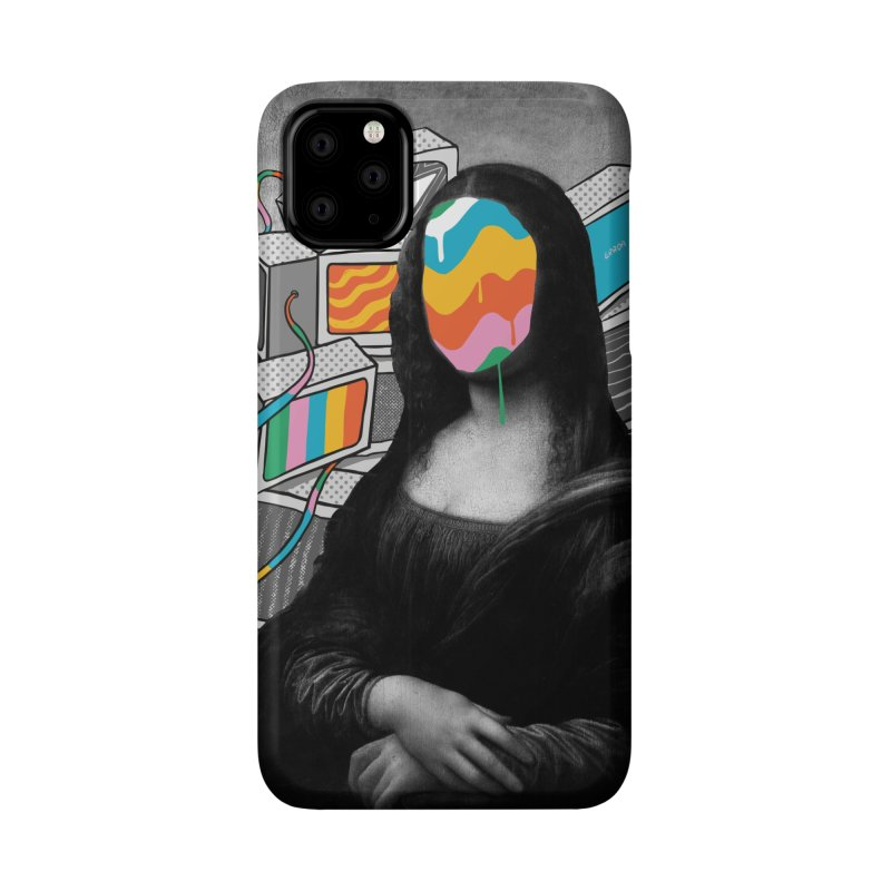 Mona Lisa Meltdown Accessories Phone Case by RJ Artworks's Artist Shop