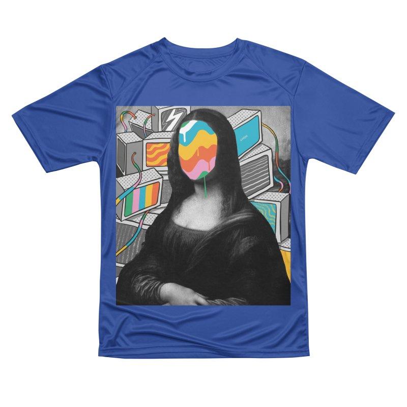 Mona Lisa Meltdown Men's Performance T-Shirt by RJ Artworks's Artist Shop