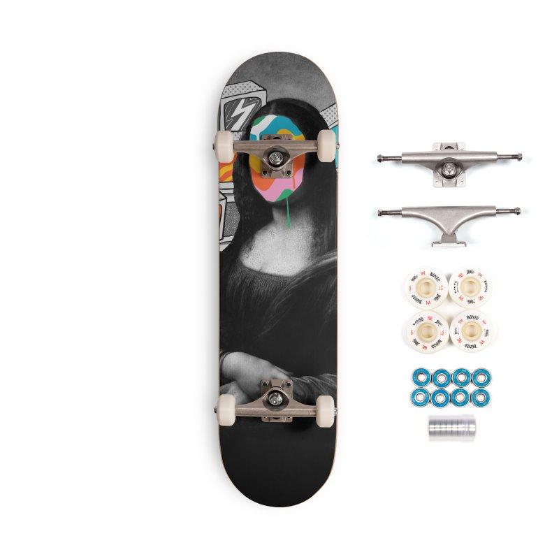 Mona Lisa Meltdown Accessories Complete - Premium Skateboard by RJ Artworks's Artist Shop