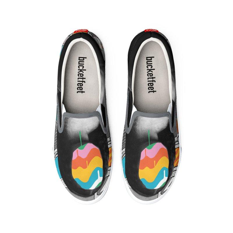 Mona Lisa Meltdown Men's Shoes by RJ Artworks's Artist Shop