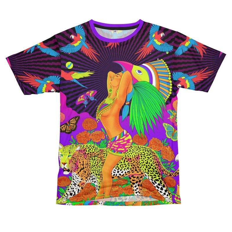 The Aztec Goddess Men's T-Shirt Cut & Sew by RJ Artworks's Artist Shop