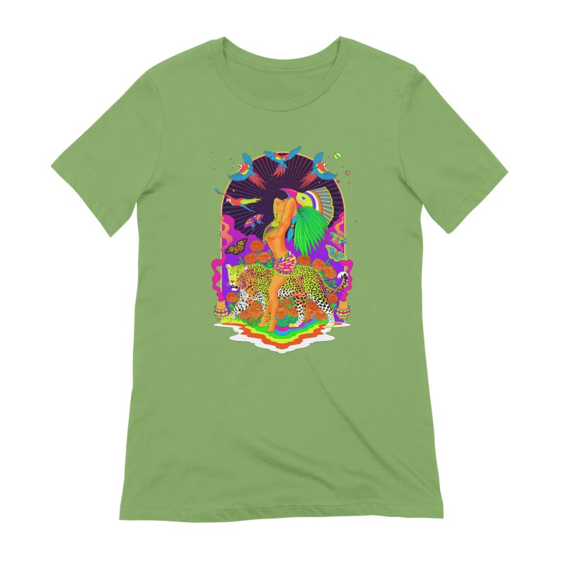 The Aztec Goddess Women's Extra Soft T-Shirt by RJ Artworks's Artist Shop