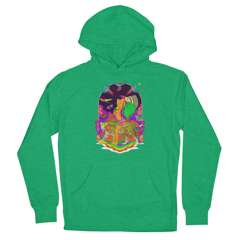 The Aztec Goddess Men's French Terry Pullover Hoody by RJ Artworks's Artist Shop