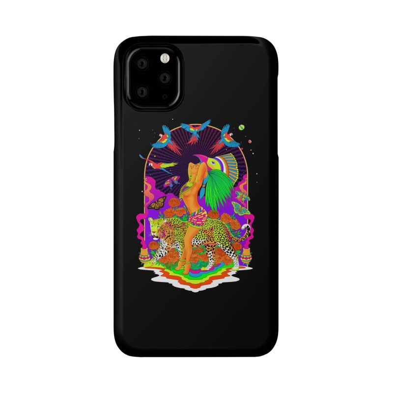 The Aztec Goddess Accessories Phone Case by RJ Artworks's Artist Shop