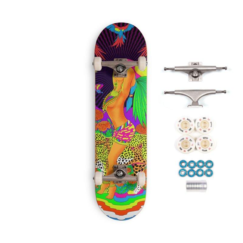 The Aztec Goddess Accessories Complete - Premium Skateboard by RJ Artworks's Artist Shop