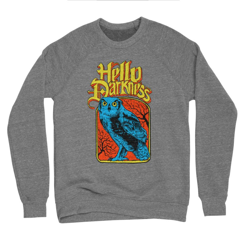 Hello Darkness - Night Owl Women's Sweatshirt by RJ Artworks's Artist Shop