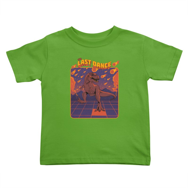 The Last Dance Kids Toddler T-Shirt by RJ Artworks's Artist Shop