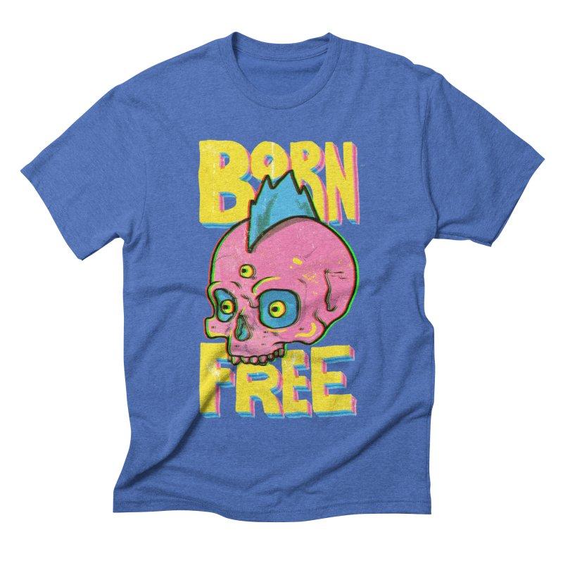 Born Free Men's T-Shirt by RJ Artworks's Artist Shop