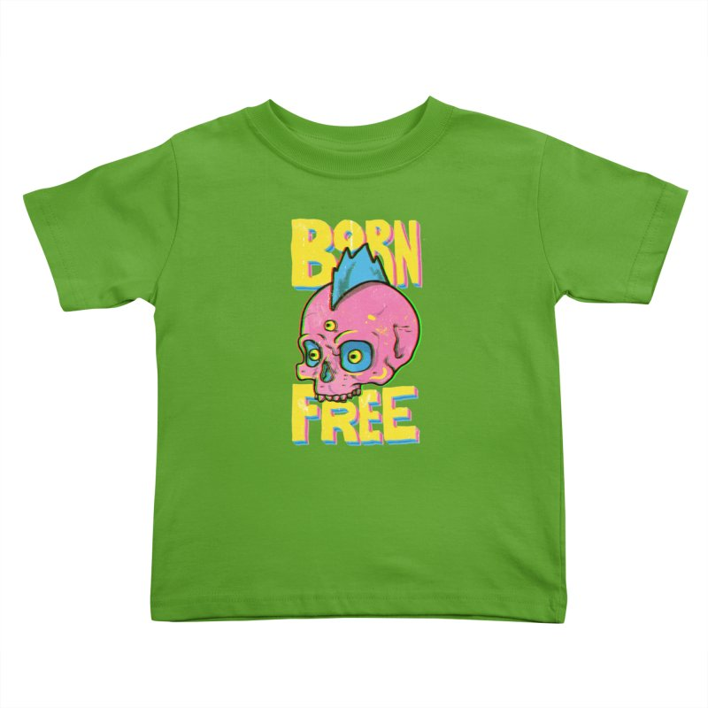 Born Free Kids Toddler T-Shirt by RJ Artworks's Artist Shop