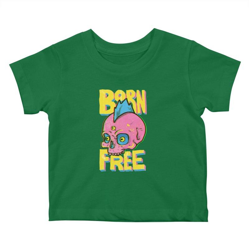 Born Free Kids Baby T-Shirt by RJ Artworks's Artist Shop