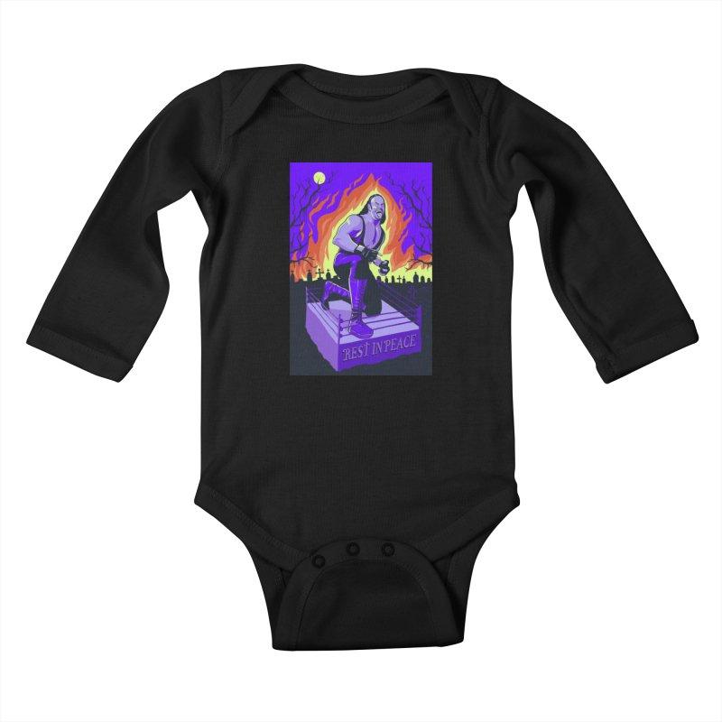 Rest in Peace Kids Baby Longsleeve Bodysuit by RJ Artworks's Artist Shop