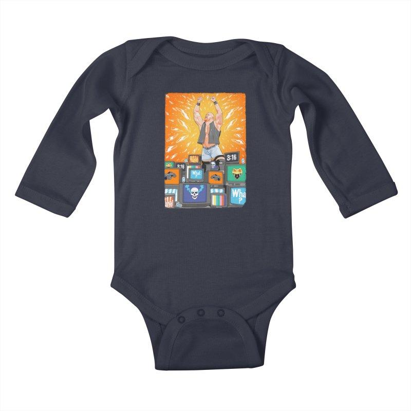 Glass Shatters Kids Baby Longsleeve Bodysuit by RJ Artworks's Artist Shop